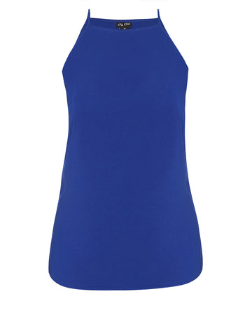 High Square Cami In Cobalt