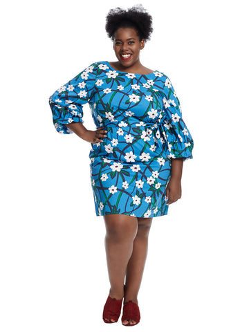 Balloon Sleeve Floral Draper James Shift Dress