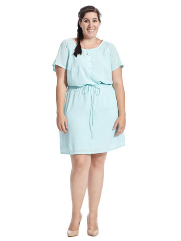 Jaime Dress In Spring Water