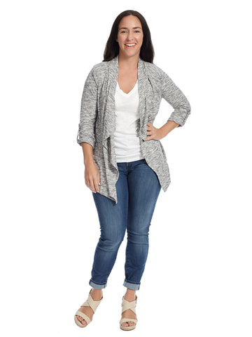 Waterfall Grey Cardigan
