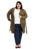 Patch Pocket Olive Duster