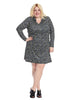 Kinsley Dress In Night Marbles