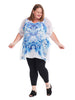 Lakesha Butterfly Sleeve Top