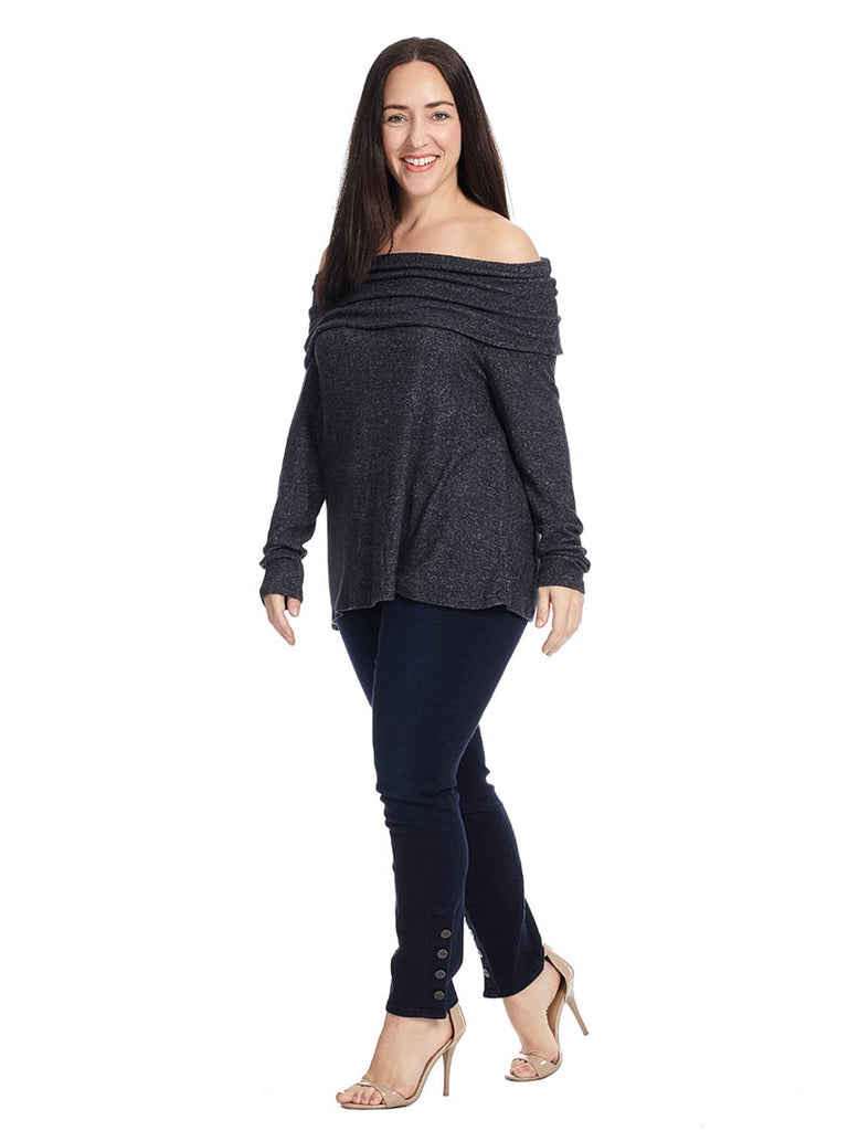 Capri Off Shoulder Sweater