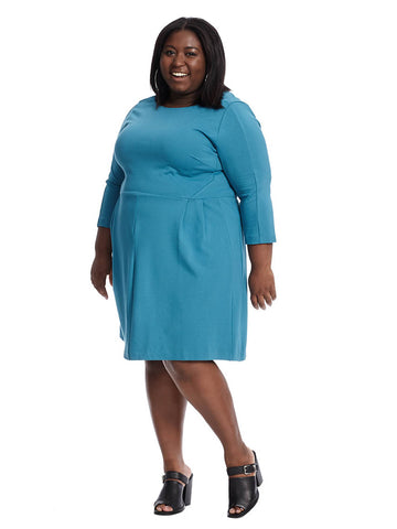Chelsea Dress In Deep Teal