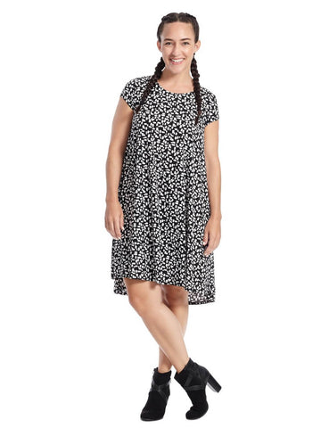 Print Maggie Trapeze Dress
