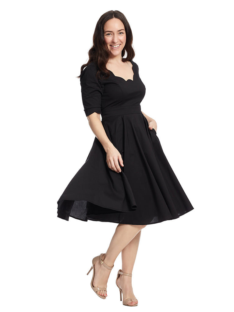 Black Virginia Dress