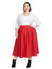 Kate Midington Skirt In Red