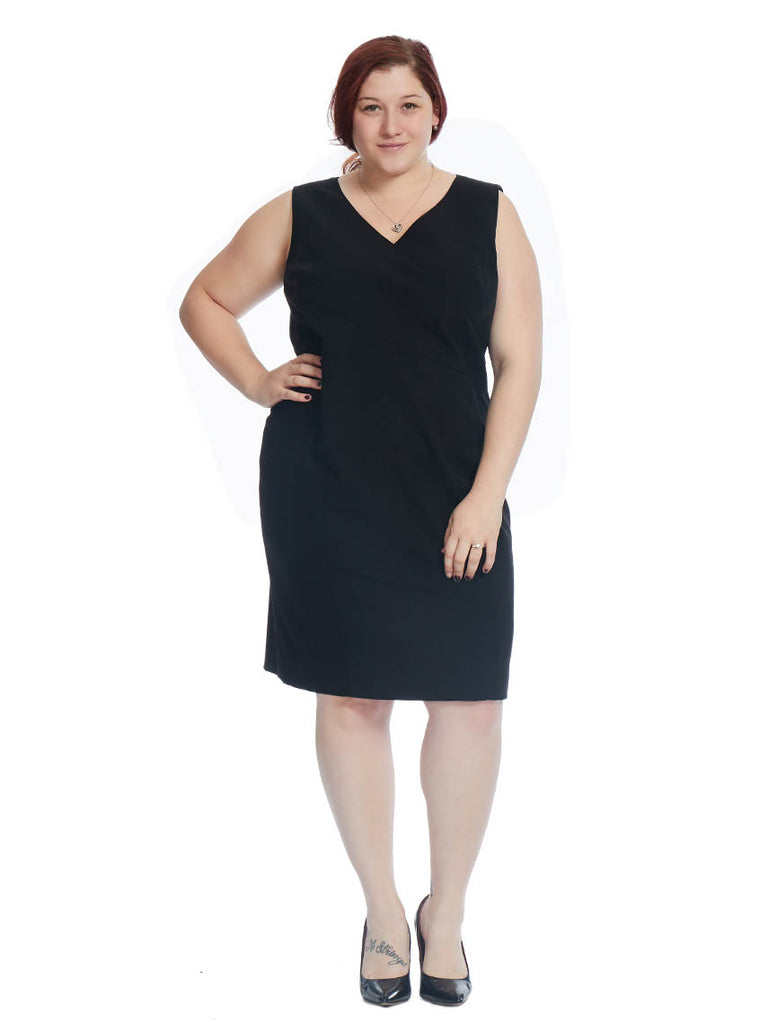 Sheath Dress In Black