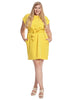Belted Marigold Riverside Dress