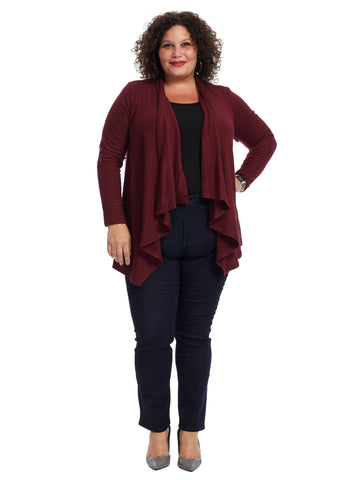 Waterfall Red Cardigan