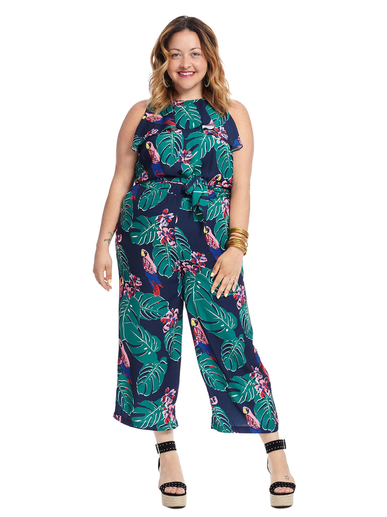 Parrot Print Draper James Jumpsuit
