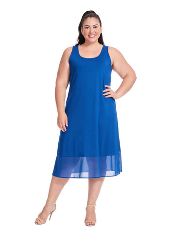 Lola Dress In Blue