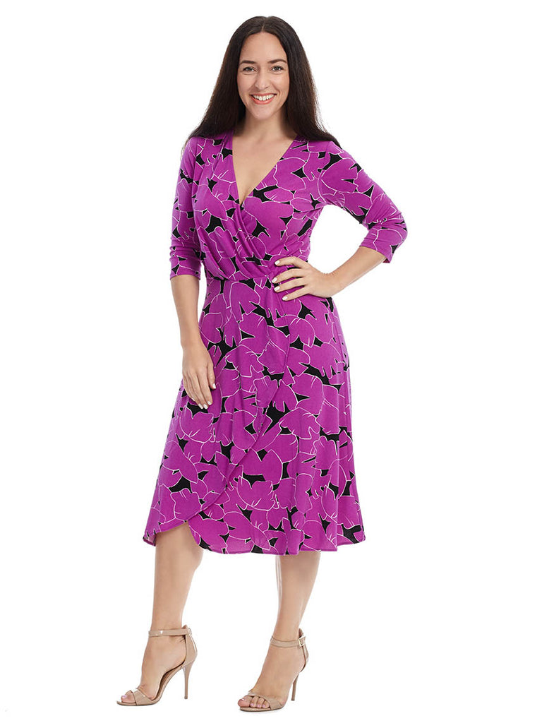 Mae Dress In Petunia