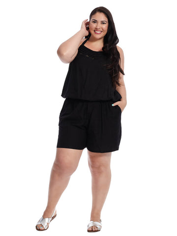 Cielo Jumpsuit In Black