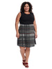 Plaid Skirt Jefferson Dress