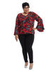 Ruby Rock Swing Sleeve Top
