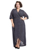 Maxi True Wrap Dress
