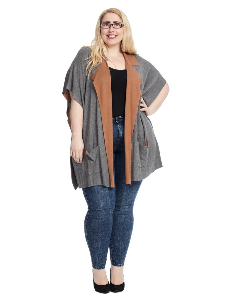 Liya Double Faced Cardigan