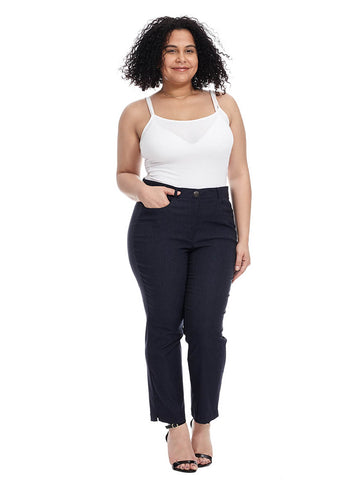 Denim Slim Ankle Pant