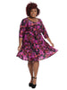 Taryn Dress In Amethyst Allure
