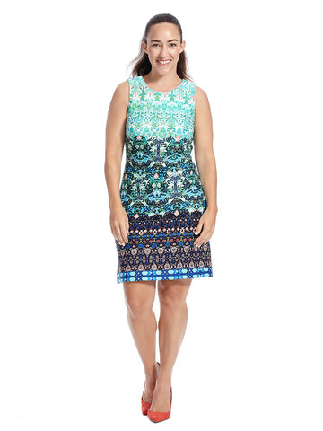 Sleeveless Kasbah Print Dress