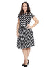 Circle Dress In Hollywood Dot