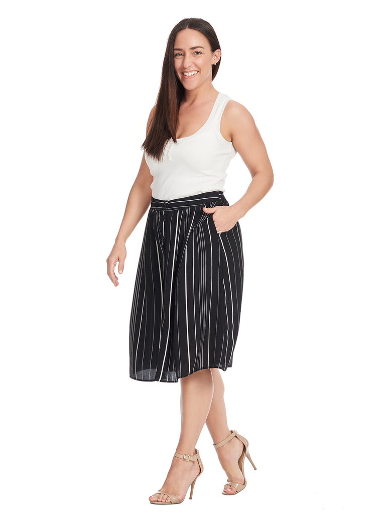 Mix and Match Stripe Skirt