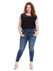 JFK Power Fit Skinny Villa Wash Jeans