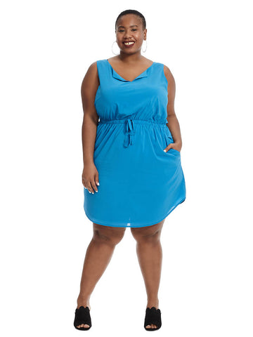 Bree Dress In Blue Grott