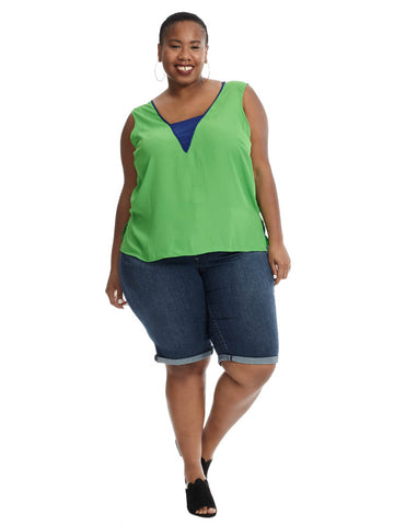 Coda Top In Green