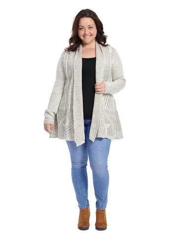 Mika Cardigan In Cream