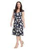 Scatter Stem Printed Dress