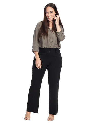 Curvy Fit Bootleg Pant In Regular