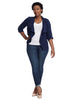Duster Jacket In Navy