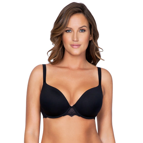 Lydie Contour Padded Bra In Black