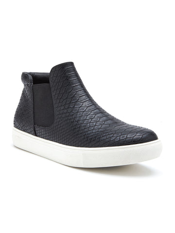 Harlan Sneaker In Black Snake