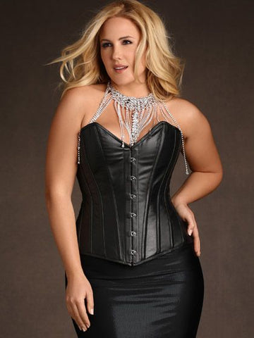 Stella Rose Leather Corset
