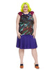 Abstract Painterly Gemma Dress