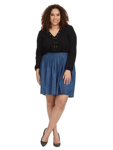 Alma Chambray Skirt