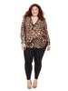 Iris blouse In Leopard