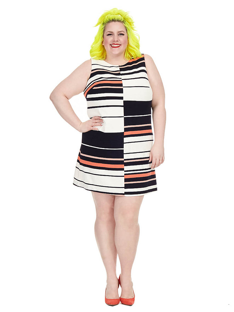 Fire Cracker Stripe Dress
