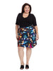 Printed Modern Pencil Skirt