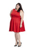 Blaire Dress In Red