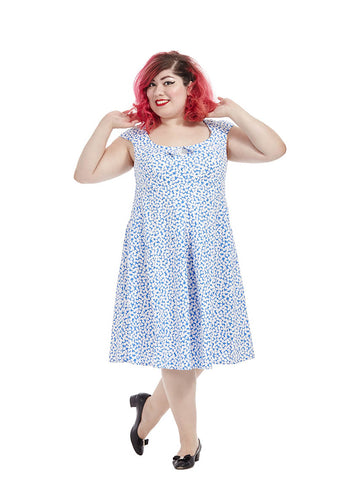 Kate Dress In Blue Guitar Picks