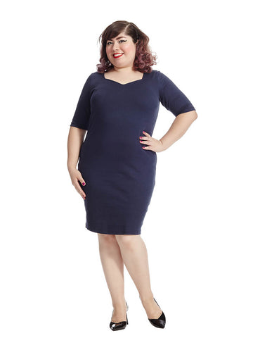 Cissqa Elbow-Length Dress