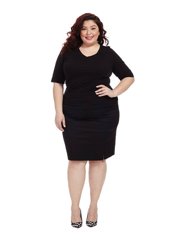 Didot Unzip Skirt In Universal Black