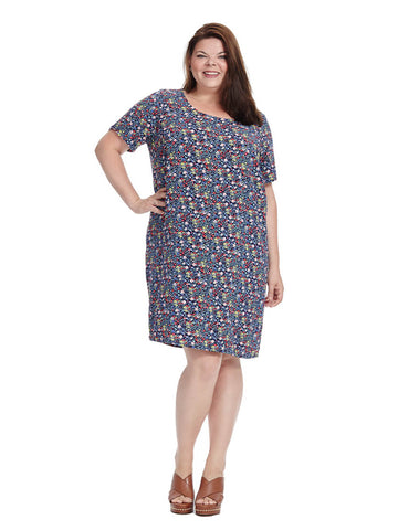 Flory Short Sleeve Dress