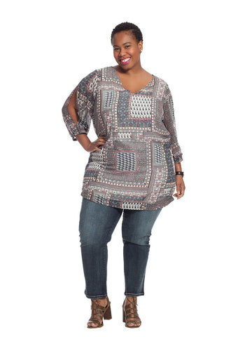 Mirso 3/4 Sleeve Tunic