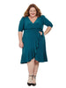 Whimsy Dress In Evergreen